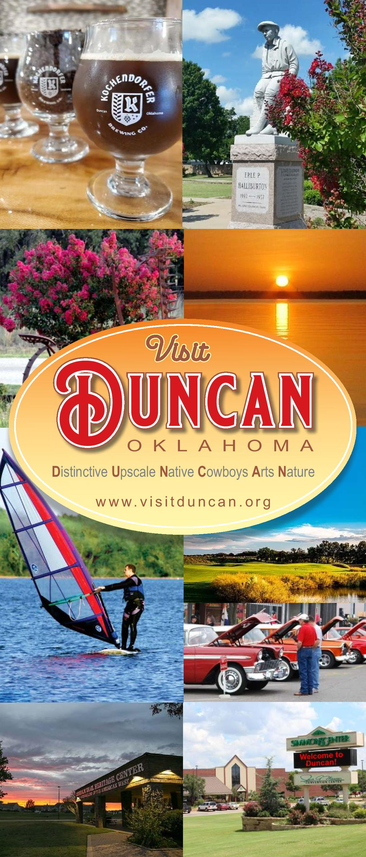 Visit Duncan OK Full Brochure 2019 Cover