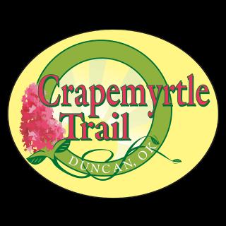 Crapemyrtle Trail Logo